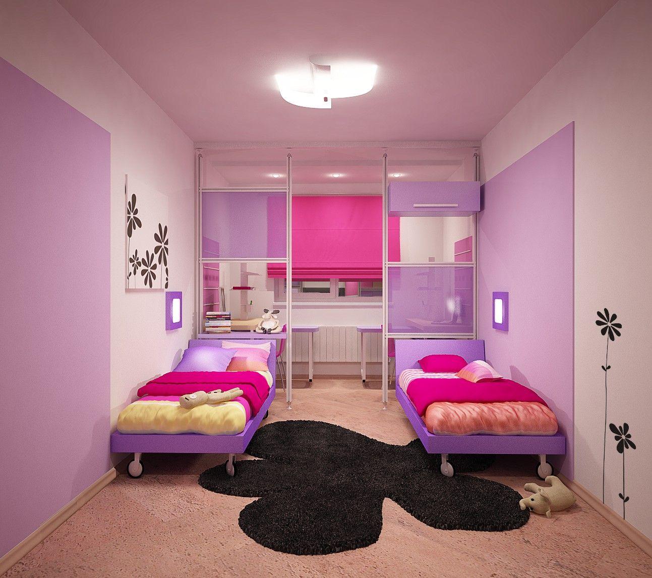 Интерьер детской комнаты для девочки своими руками